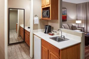 A kitchen or kitchenette at Orchards Inn