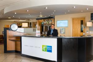The lobby or reception area at Holiday Inn Express Newcastle Metro Centre, an IHG Hotel