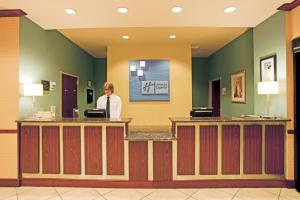 The lobby or reception area at Holiday Inn Express Hotel & Suites Amarillo South, an IHG Hotel