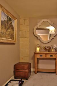 A bathroom at The Highland Club
