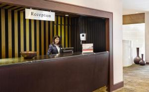 The lobby or reception area at Crowne Plaza Rome St. Peter's, an IHG Hotel