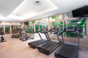 The fitness center and/or fitness facilities at Crowne Plaza Rome St. Peter's, an IHG Hotel