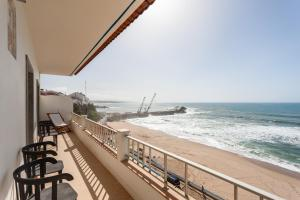 A balcony or terrace at Blue Buddha Beach Rooms & Suites