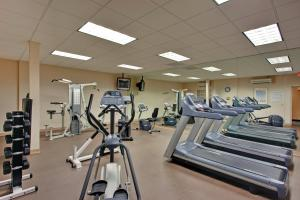 The fitness center and/or fitness facilities at Amenida Residences, Calgary