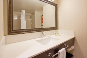 A bathroom at Holiday Inn Vancouver-Centre Broadway, an IHG Hotel