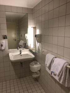 Un baño de Gaustad Hotel