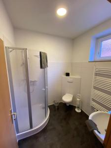 A bathroom at Pension No.9