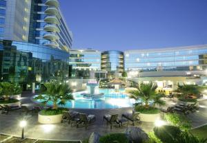 The swimming pool at or near Millennium Airport Hotel Dubai