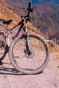 Biking at or in the surroundings of Homestay Pachamama