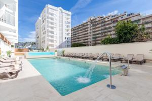 The swimming pool at or near Hotel Helios - Almuñecar
