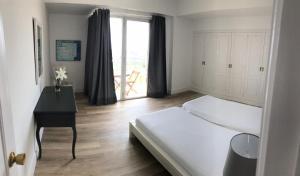 Ein Sitzbereich in der Unterkunft Apartamentos Bruja