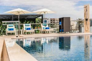 The swimming pool at or near Narcissus 88 Boutique Hotel Jeddah