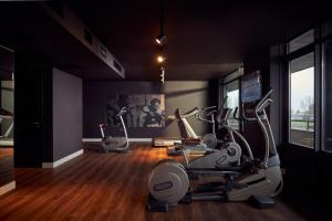 The fitness centre and/or fitness facilities at Van der Valk Hotel Sneek