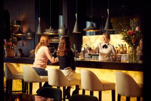 The lounge or bar area at Van der Valk Hotel Sneek
