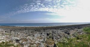 度假屋海灘或附近的海灘