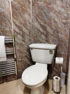 A bathroom at Strathness House