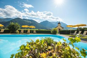 The swimming pool at or near Hotel Seehof