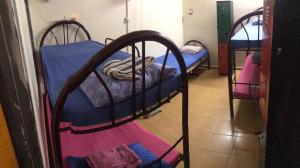 A bed or beds in a room at Sweet Monkey Backpacker Hostel