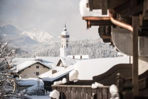 Biohotel Garmischer Hof during the winter