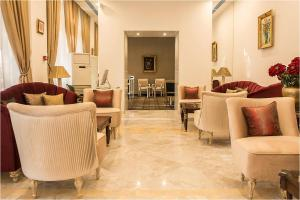 ホテル ラ メゾン ブランシェにあるラウンジまたはバー