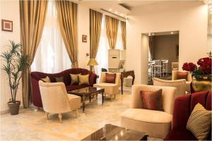 ホテル ラ メゾン ブランシェにあるシーティングエリア