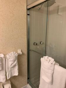 A bathroom at The Lago Mar Beach Resort and Club