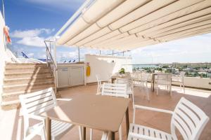 A balcony or terrace at Azure Lofts & Pool