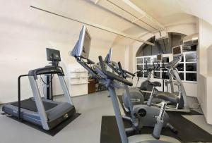 The fitness centre and/or fitness facilities at Hotel Schloss Weikersdorf