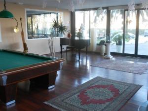 A pool table at Hotel Valdaso