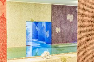 A bathroom at Hotel San Giorgio Terme