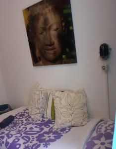 A bed or beds in a room at Simplon Hostel