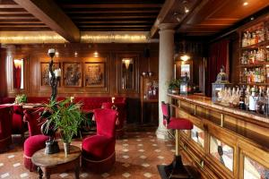 Lounge oder Bar in der Unterkunft Hotel Metropole Venezia