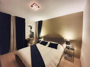 Posteľ alebo postele v izbe v ubytovaní Black Pearl