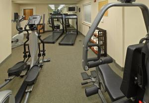 The fitness center and/or fitness facilities at Candlewood Suites Conway, an IHG Hotel