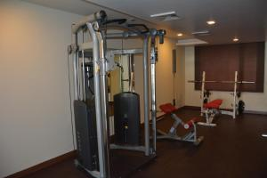 The fitness center and/or fitness facilities at Best Western Swing High Katra