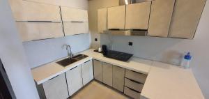 A kitchen or kitchenette at Kalimba Beach Resort