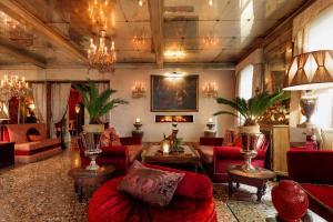 Lobby/Rezeption in der Unterkunft Hotel Metropole Venezia