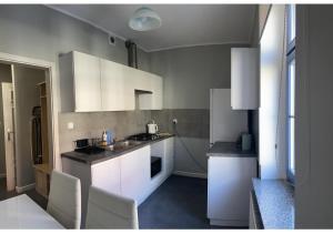 A kitchen or kitchenette at Apartament Aleksandra