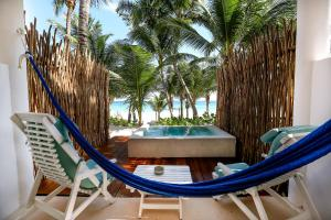 The swimming pool at or near Cabanas Tulum- Beach Hotel & Spa