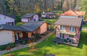 Pohľad z vtáčej perspektívy na ubytovanie Apart-club Zora