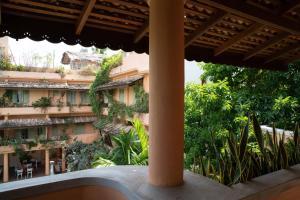 A balcony or terrace at Casa Maria