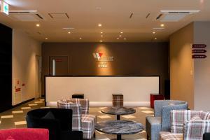 The lobby or reception area at Hotel Wing International Select Hakata-Ekimae