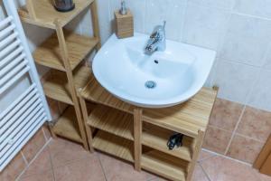 A bathroom at TD Bohinj Apartments