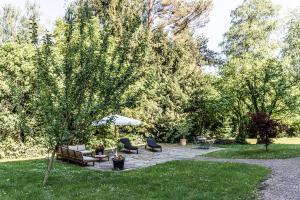 Ein Garten an der Unterkunft Seehörnle Bio Hotel & Gasthaus