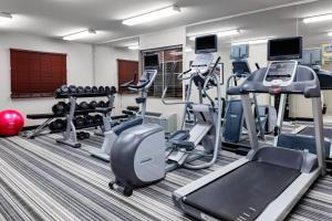 The fitness center and/or fitness facilities at Candlewood Suites Warner Robins, an IHG Hotel