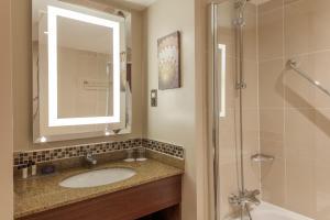 A bathroom at Slaley Hall