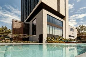 The swimming pool at or close to Hotel SOFIA Barcelona, in The Unbound Collection by Hyatt
