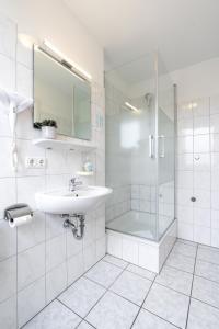 Ванная комната в Hotel Fresh INN