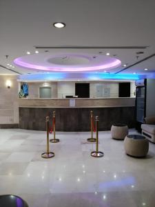 منطقة الاستقبال أو اللوبي في فندق زهرة الياسر