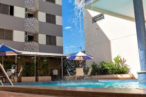 The swimming pool at or near Brumado Hotel